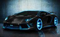 Black And Blue Lamborghini 1 Desktop Wallpaper