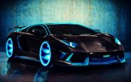 Black And Blue Lamborghini 10 Cool Wallpaper