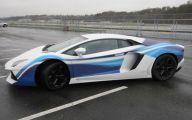 Black And Blue Lamborghini 12 Free Wallpaper
