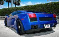 Black And Blue Lamborghini 13 Desktop Background