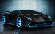 Black And Blue Lamborghini 17 Desktop Background