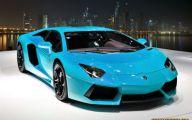 Black And Blue Lamborghini 2 Cool Wallpaper