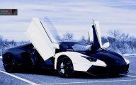 Black And Blue Lamborghini 21 Wide Wallpaper