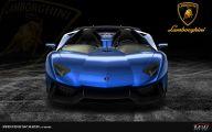 Black And Blue Lamborghini 26 Desktop Background