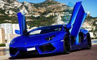 Black And Blue Lamborghini 31 Wide Wallpaper