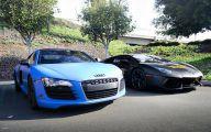 Black And Blue Lamborghini 32 High Resolution Wallpaper