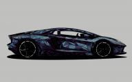 Black And Blue Lamborghini 36 Hd Wallpaper