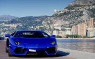 Black And Blue Lamborghini 37 Widescreen Wallpaper