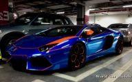 Black And Blue Lamborghini 6 High Resolution Wallpaper