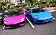 Black And Blue Lamborghini 7 Background