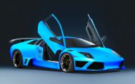 Black And Blue Lamborghini Wallpaper 18 Background