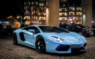 Black And Blue Lamborghini Wallpaper 6 Background