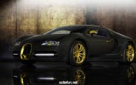 Black And Gold Exotic Cars 20 Wide Wallpaper