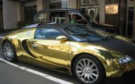Black And Gold Exotic Cars 7 Widescreen Wallpaper