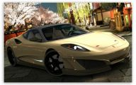 Black And Gold Ferrari 10 Cool Hd Wallpaper