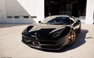 Black And Gold Ferrari 13 Cool Wallpaper