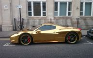Black And Gold Ferrari 14 Cool Hd Wallpaper