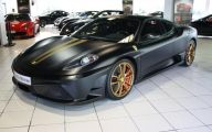 Black And Gold Ferrari 17 Free Hd Wallpaper
