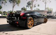 Black And Gold Ferrari 18 Free Wallpaper