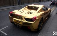 Black And Gold Ferrari 23 Free Wallpaper