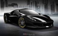 Black And Gold Ferrari 28 Background