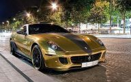 Black And Gold Ferrari 30 Hd Wallpaper