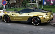 Black And Gold Ferrari 32 Free Wallpaper
