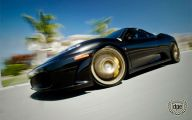 Black And Gold Ferrari 37 Free Hd Wallpaper