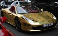 Black And Gold Ferrari 40 Cool Hd Wallpaper