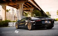 Black And Gold Lamborghini 21 Background