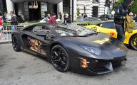 Black And Gold Lamborghini 28 Wide Wallpaper