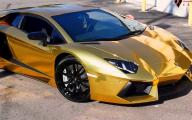 Black And Gold Lamborghini 5 Hd Wallpaper