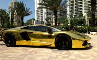 Black And Gold Lamborghini 6 Cool Wallpaper