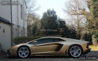 Black And Gold Lamborghini 7 Free Hd Wallpaper