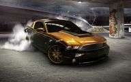Black And Gold Race Cars 6 Wide Wallpaper