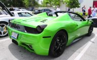 Black And Green Ferrari 15 Free Hd Wallpaper