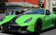 Black And Green Ferrari 20 Hd Wallpaper