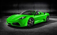 Black And Green Ferrari 25 Hd Wallpaper