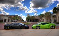 Black And Green Lamborghini 13 Desktop Wallpaper