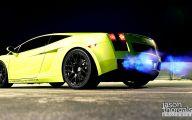 Black And Green Lamborghini 3 Hd Wallpaper