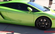 Black And Green Lamborghini 6 Wide Wallpaper