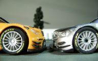 Black And Silver Race Cars 13 Desktop Background