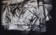Black And White Abstract Art  12 Background