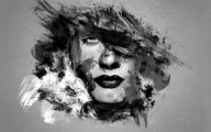 Black And White Abstract Art  8 Cool Wallpaper