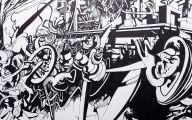 Black And White Abstract Drawings  1 Cool Wallpaper