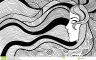 Black And White Abstract Drawings  16 Cool Wallpaper