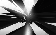 Black And White Abstract Drawings  17 Desktop Wallpaper