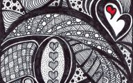 Black And White Abstract Drawings  25 Hd Wallpaper