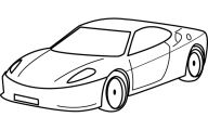 Black And White Car Drawings  10 Widescreen Wallpaper
