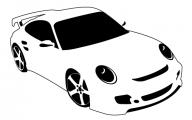 Black And White Car Drawings  14 Desktop Wallpaper